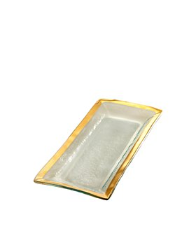 Annieglass - Roman Antique Appetizer Tray