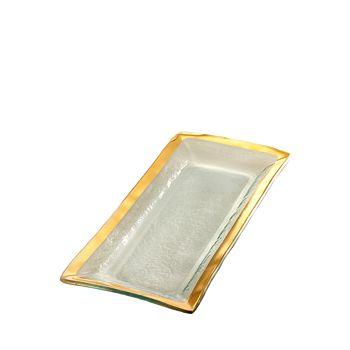 Annieglass - Roman Antique Appetizer Tray