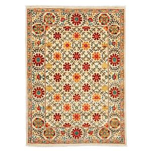 Suzani Collection Oriental Rug, 4'2 x 5'9