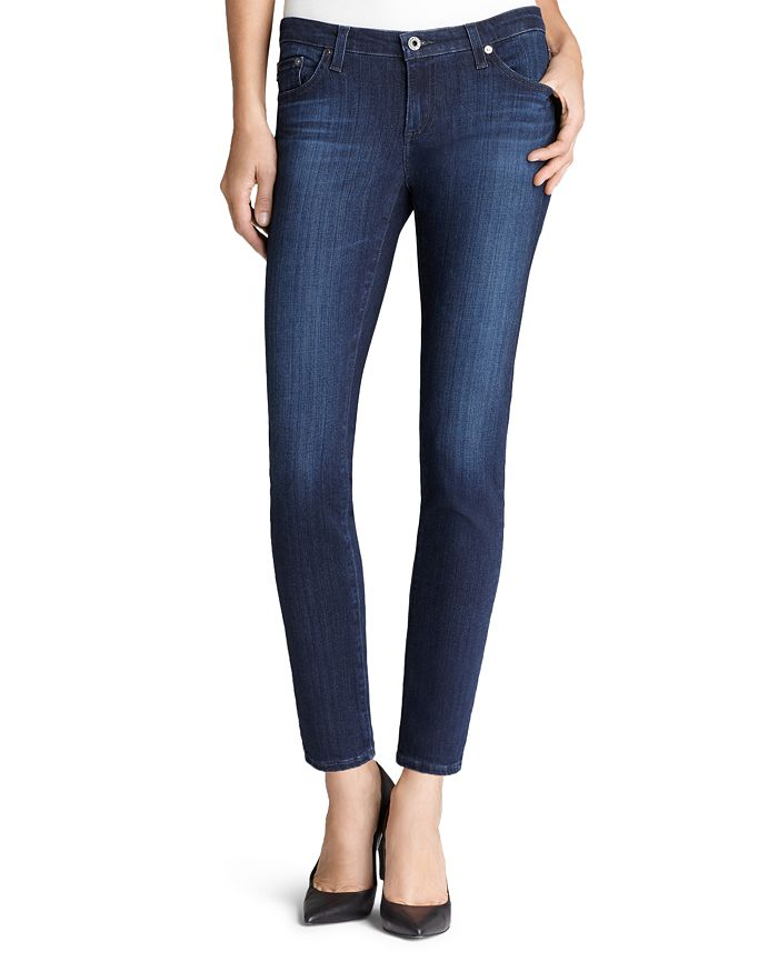 bc8ba4ebb90a1 AG Legging Ankle Jeans in Coal Gray | Bloomingdale's