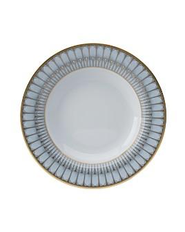 Philippe Deshoulieres - Arcades Green Soup Plate