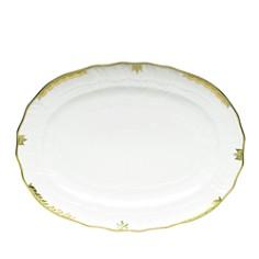 Herend Princess Victoria Green Platter - Bloomingdale's_0