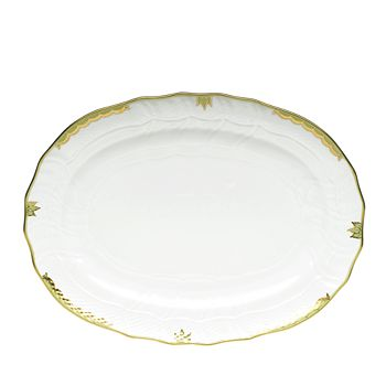 Herend - Princess Victoria Green Platter
