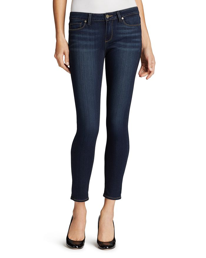 PAIGE - Verdugo Skinny Ankle Jeans in Nottingham