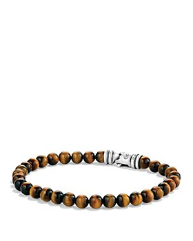 David Yurman - Spiritual Beads Bracelet with Tiger's Eye