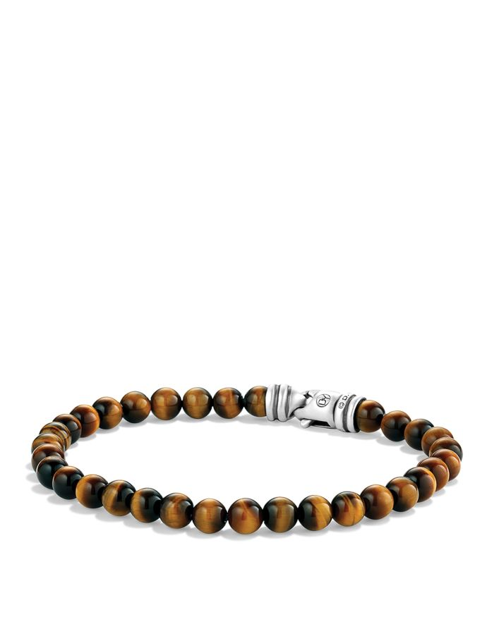 David Yurman Spiritual Beads Bracelet with Tiger's Eye    Bloomingdale's