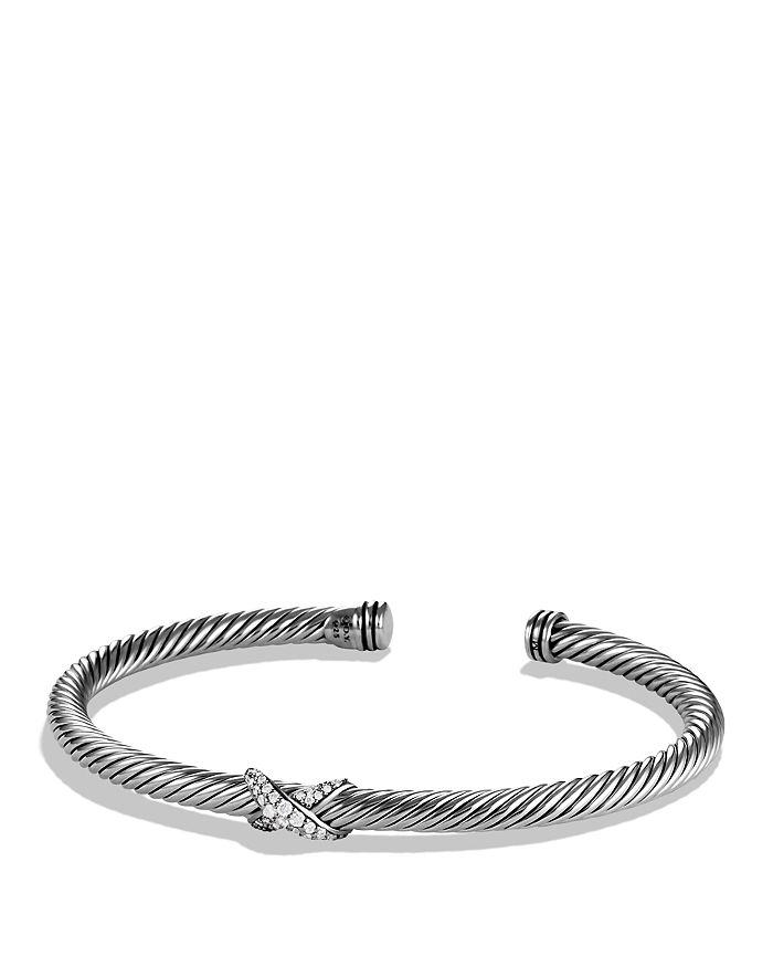David Yurman - X Bracelet with Diamonds