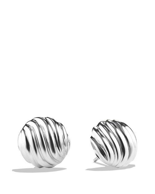 David Yurman - Sculpted Cable Earrings