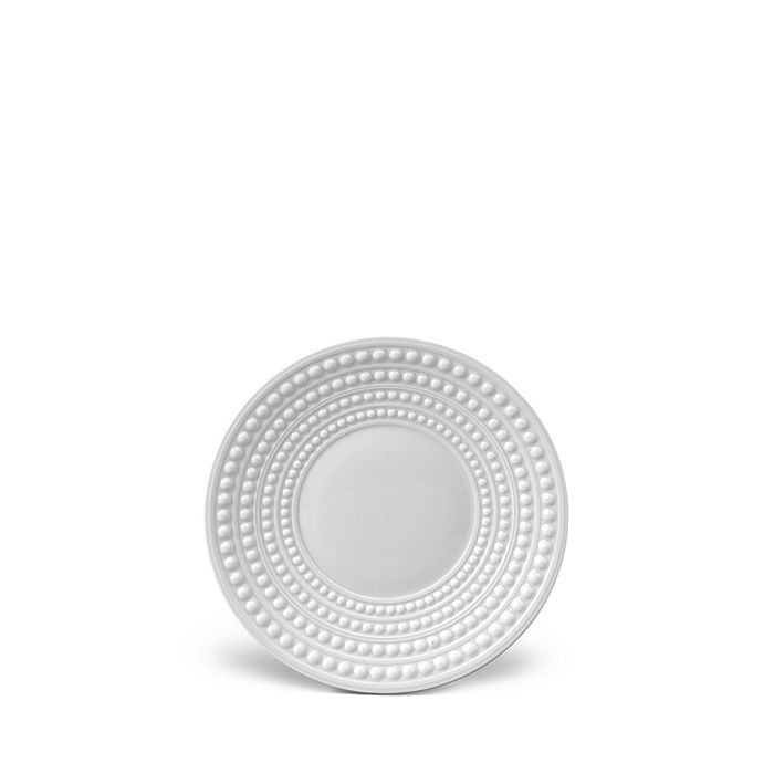 L'Objet - Perlee White Saucer