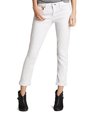rag & bone/Jean The Dre Slim Boyfriend Jeans in Aged Bright White