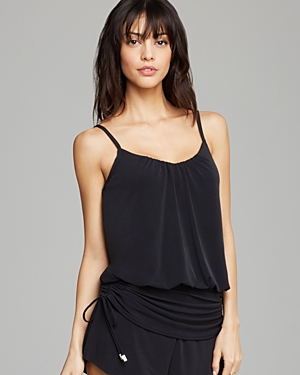 Magicsuit Solid Shelly Tankini Top plus size,  plus size fashion plus size appare