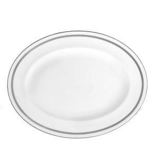 Vera Wang Wedgwood Infinity Oval Platter