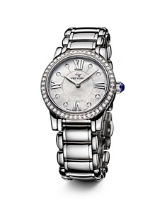 David Yurman Classic 30mm Stainless Steel Quartz with Diamond Bezel - Bloomingdale's_0