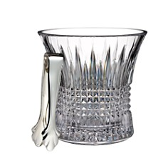 Waterford Lismore Diamond Ice Bucket with Tongs - Bloomingdale's_0