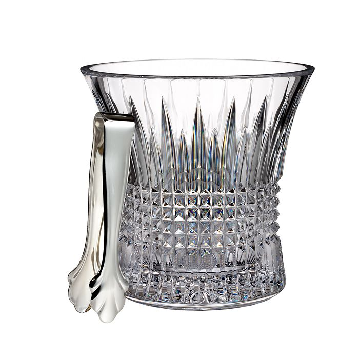 Waterford - Waterford Lismore Diamond Ice Bucket with Tongs