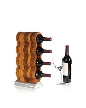 Nambé - Nambé Gourmet Bar Curvo Wine Rack