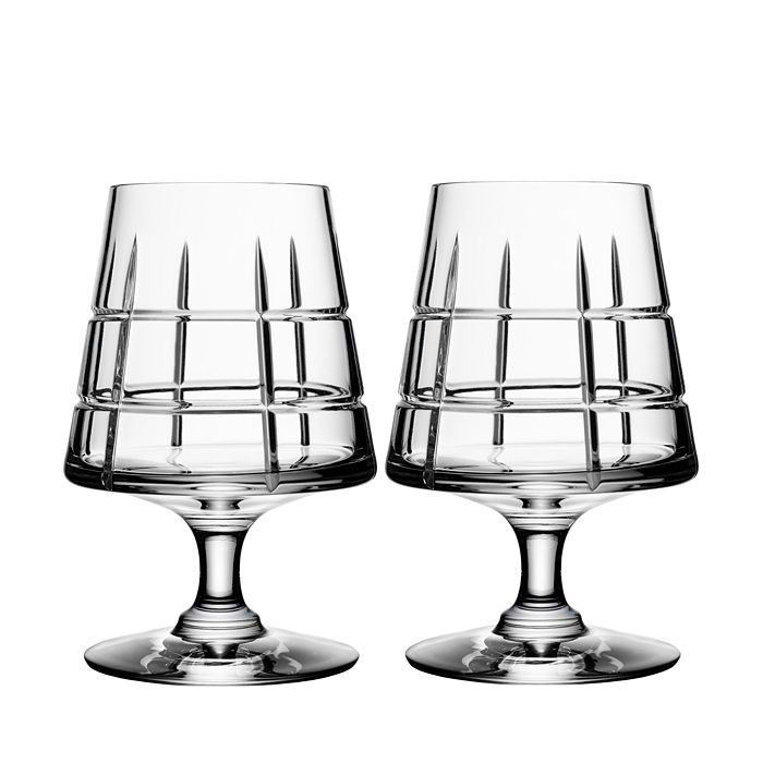 Orrefors - Street Specialty Drinkware by Jan Johansson Cognac Glass, Set of 2