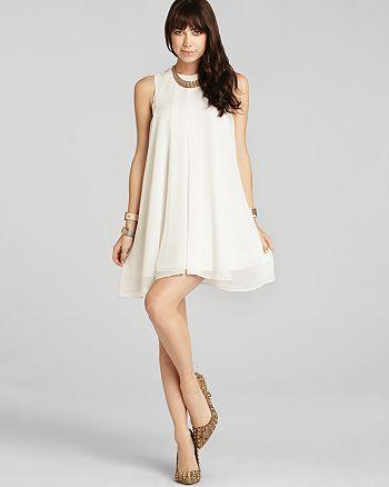 BCBGENERATION - Pleated Chiffon Dress