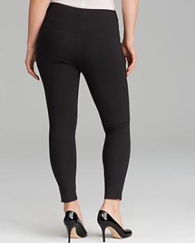 Lyssé Plus - Cotton Leggings with Ankle Vents