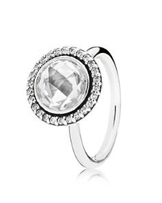 PANDORA Ring - Sterling Silver & Cubic Zirconia Brilliant Legacy - Bloomingdale's_0