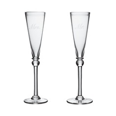 Simon Pearce Mr. and Mrs. Champagne Glasses - Bloomingdale's_0
