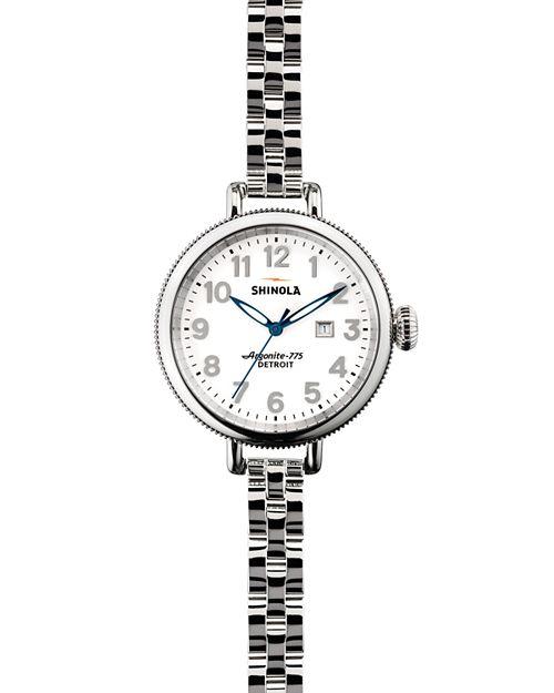 Shinola - Stainless Steel Birdy Watch, 34mm