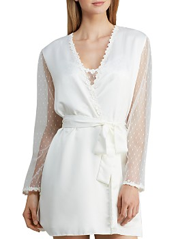 6b43e2d61b Flora Nikrooz - Showstopper Charmeuse Cover-Up Robe ...