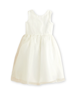 Us Angels Girls' Organza Tank Dress - Little Kid