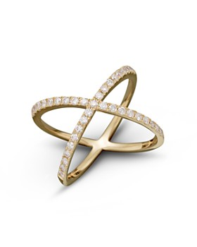 Bloomingdale's - Diamond X Band in 14K Gold, 0.40 ct. t.w. - 100% Exclusive