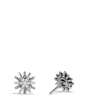 David Yurman - Starburst Earrings with Diamonds
