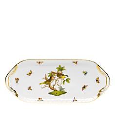 Herend Rothschild Bird Sandwich Tray - Bloomingdale's_0