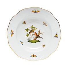 Herend - Rothschild Bird Rimmed Soup Bowl, Motif #10