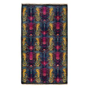 Suzani Collection Oriental Rug, 3'1 x 5'5