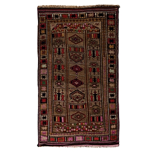Tribal Collection Oriental Rug, 5'5 x 9'3