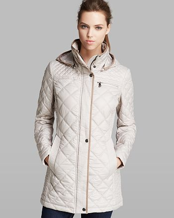 Marc New York - Coat - Fay Quilted Hooded