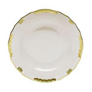 Herend Princess Victoria Green Dessert Plate