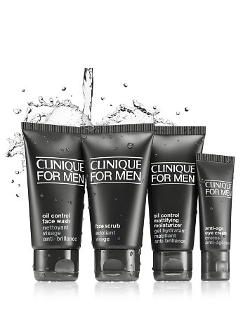 $Clinique For Men Great Skin To Go Kit, Normal to Oily - Bloomingdale's