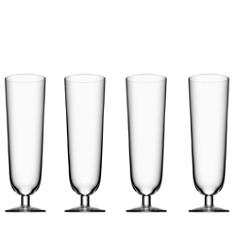 Orrefors - Orrefors Beer Collection Pilsner Glass, Set of 4