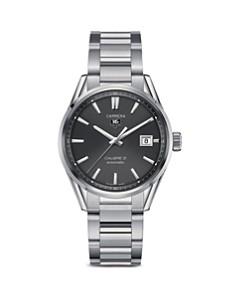 TAG Heuer Carrera Calibre 5 Stainless Steel Watch, 39mm - Bloomingdale's_0