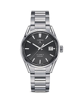 TAG Heuer - TAG Heuer Carrera Calibre 5 Stainless Steel Watch, 39mm