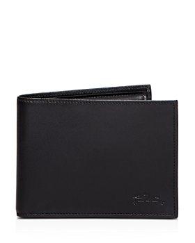 Longchamp - Baxi Cuir Bi-Fold Wallet with Coin Pouch