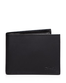 Longchamp - Baxi Cuir Bi-Fold Wallet with Coin Pouch