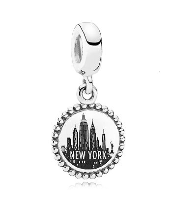 PANDORA - Sterling Silver Unforgettable Moment New York City Dangle Charm