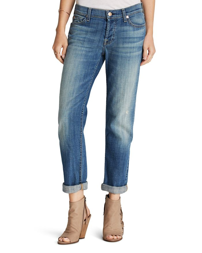 86e8f09387921e 7 For All Mankind Jeans - Josefina Boyfriend in Bright Broken Twill ...