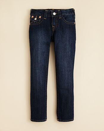 True Religion - Boys' Geno Slim Fit Classic Jeans - Sizes 2T-4T