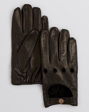The Men's Store at Bloomingdale's - Perforated Traditional Driving Glove - 100% Exclusive