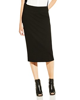 VINCE CAMUTO - Ponte Pencil Skirt