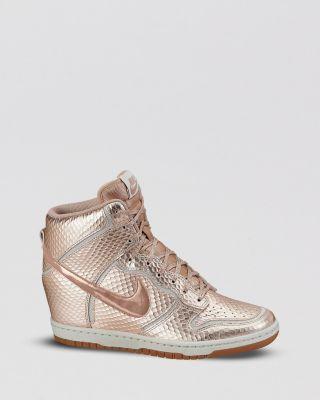 women wedge sneakers nike