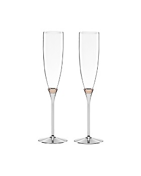 kate spade new york - Rosy Glow Toasting Flute, Set of 2