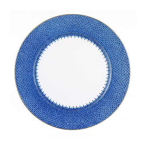 """Mottahedeh - """"Blue Lace"""" Dinner Plate"""